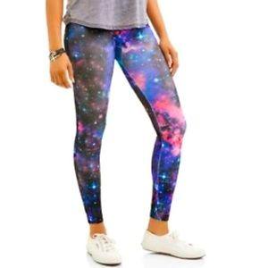 Galaxy Capri Leggings Sz 11/13